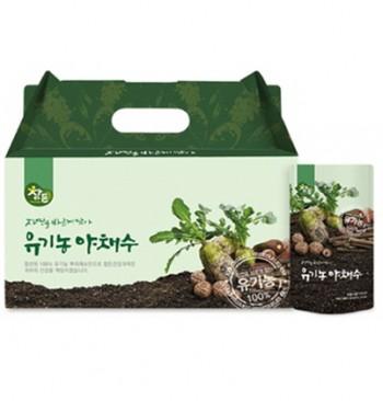 참든 유기농야채수 150ml 건강즙선물세트 90개