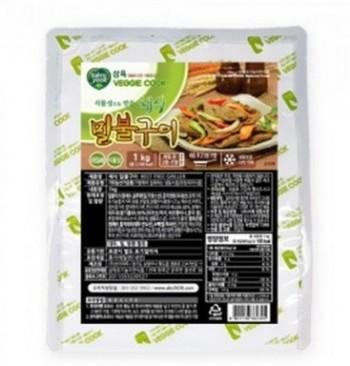 삼육유기농자연식품 채식밀불구이 1kg 콩으로만든 고기